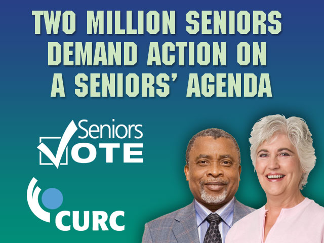 Seniors demand action