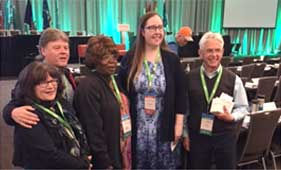 AFUR meeting with Alta labour minister Christina Gray