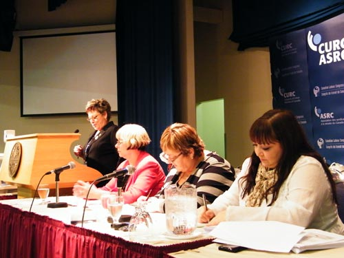 CURC's home-care panel, chaired by Cecile Cassista